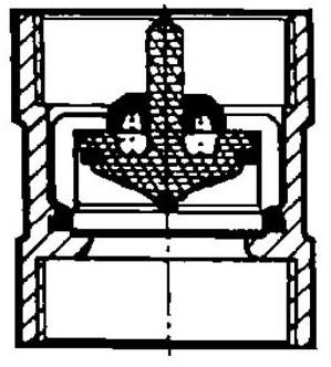 Схема обратного клапана