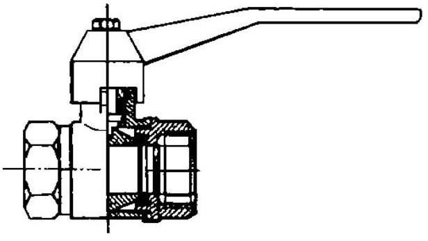 схема однотрубной системы отопления для одноэтажного дома.