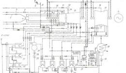 Рис.5 Принципиальная тепловая схема турбины,1-паропровод свежего пара,2-паропровод холодного промперегрева к котлу...
