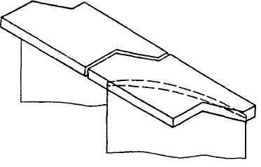 Цельнофрезерованный бандаж для лопатки турбины