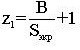 Формула количества экранных труб, принадлежащих одной плоскости фронтового (тыльного) экрана