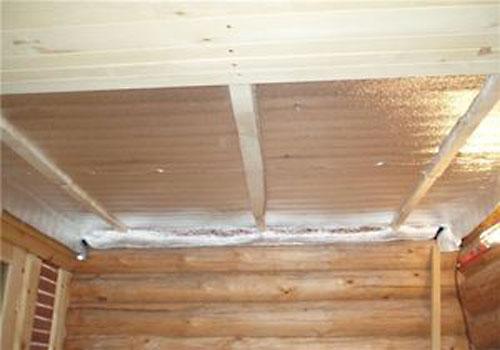 Как сделать потолок в парилке фото 302
